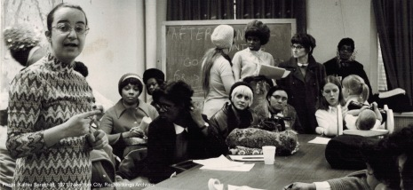 1971 childcare New York City Sit In Redstockings