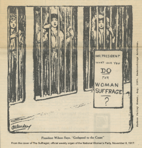 1917-11-08 The Suffragist Behind Bars embd